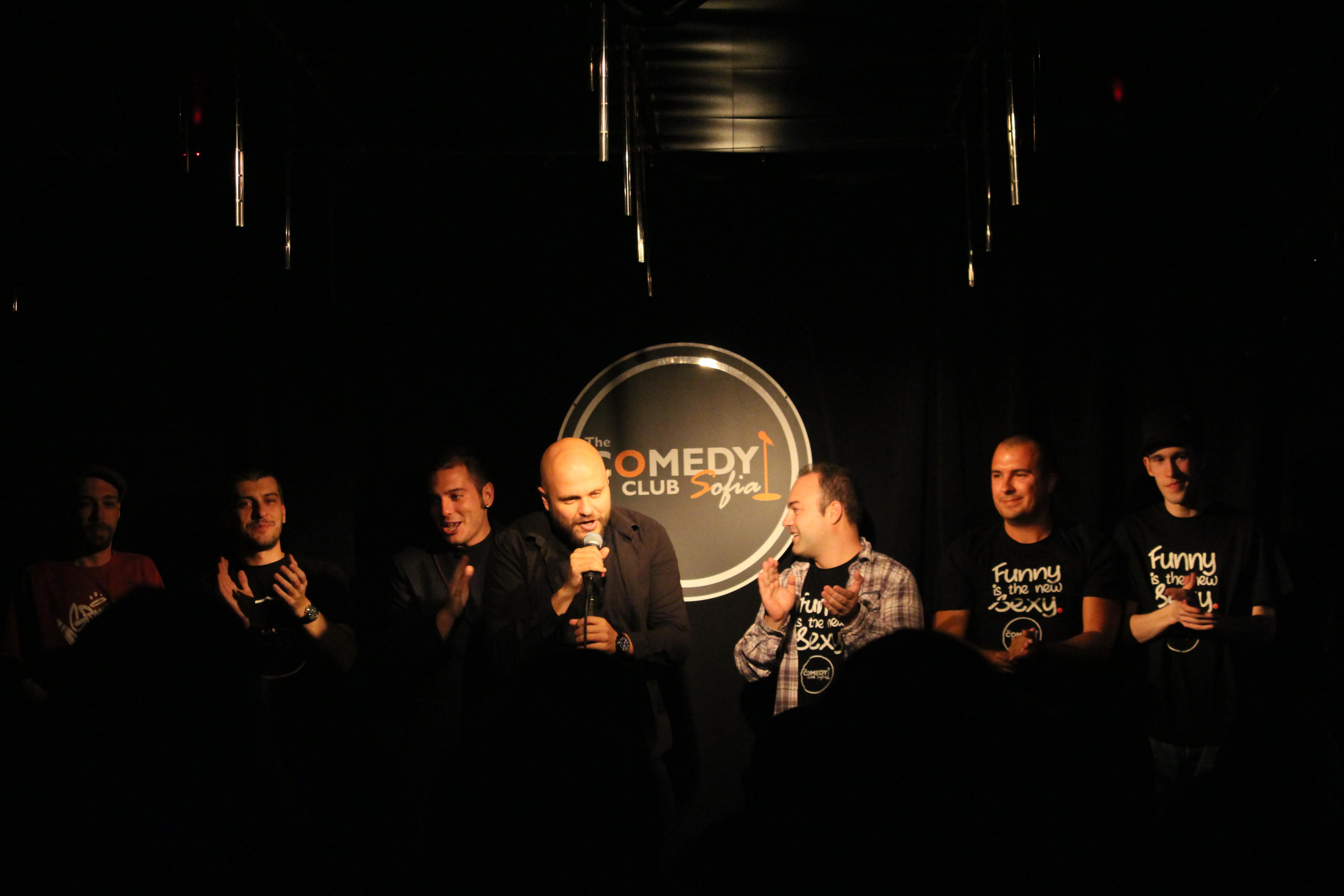 Open Mic Comedy Club Sofia Bulgaria