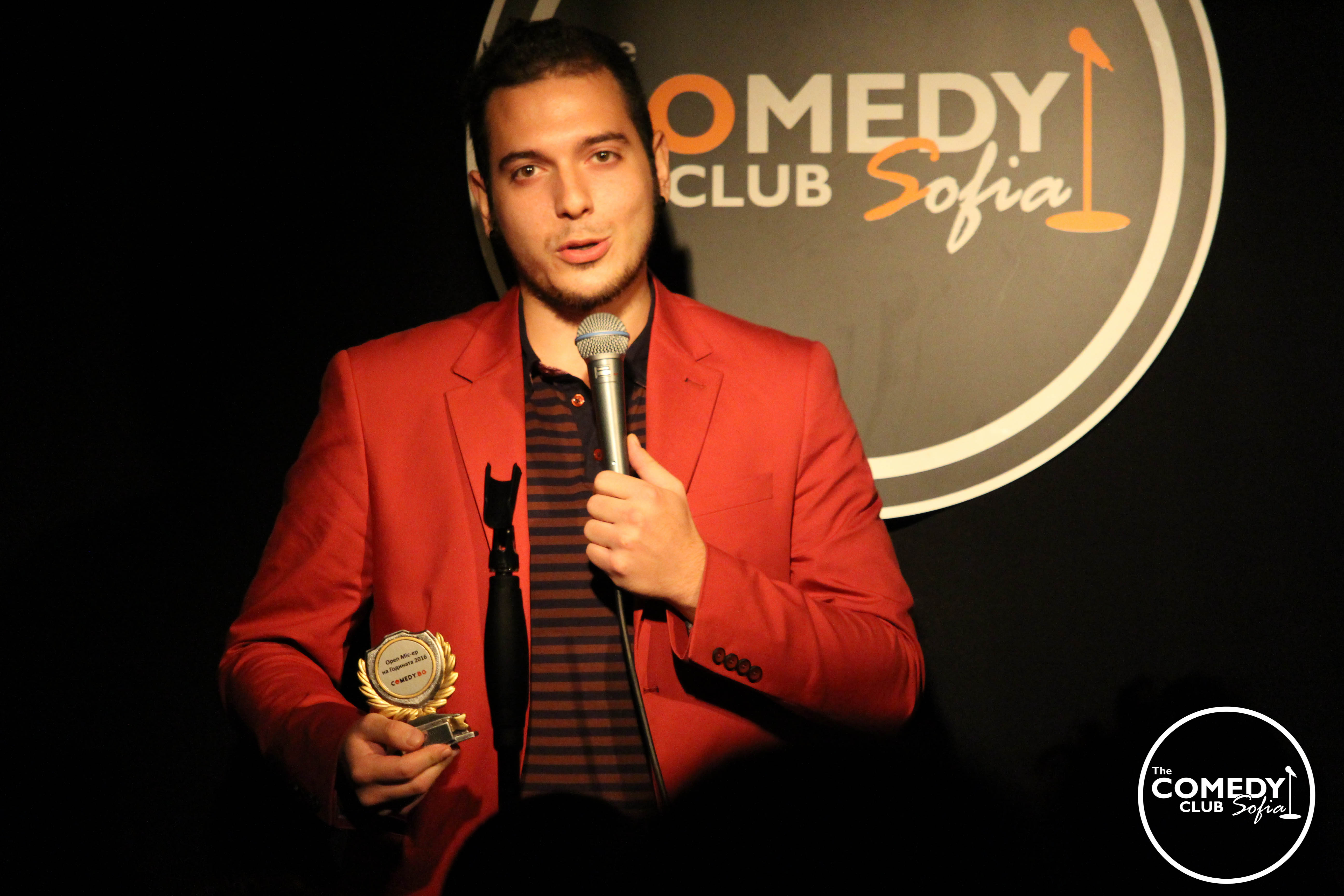 Open Mic stand-up with Nikolaos
