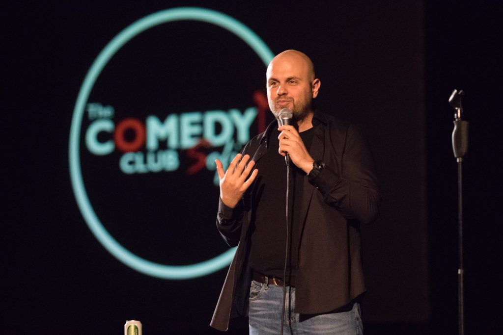 stand-up comedy Ivan Kirkov NDK