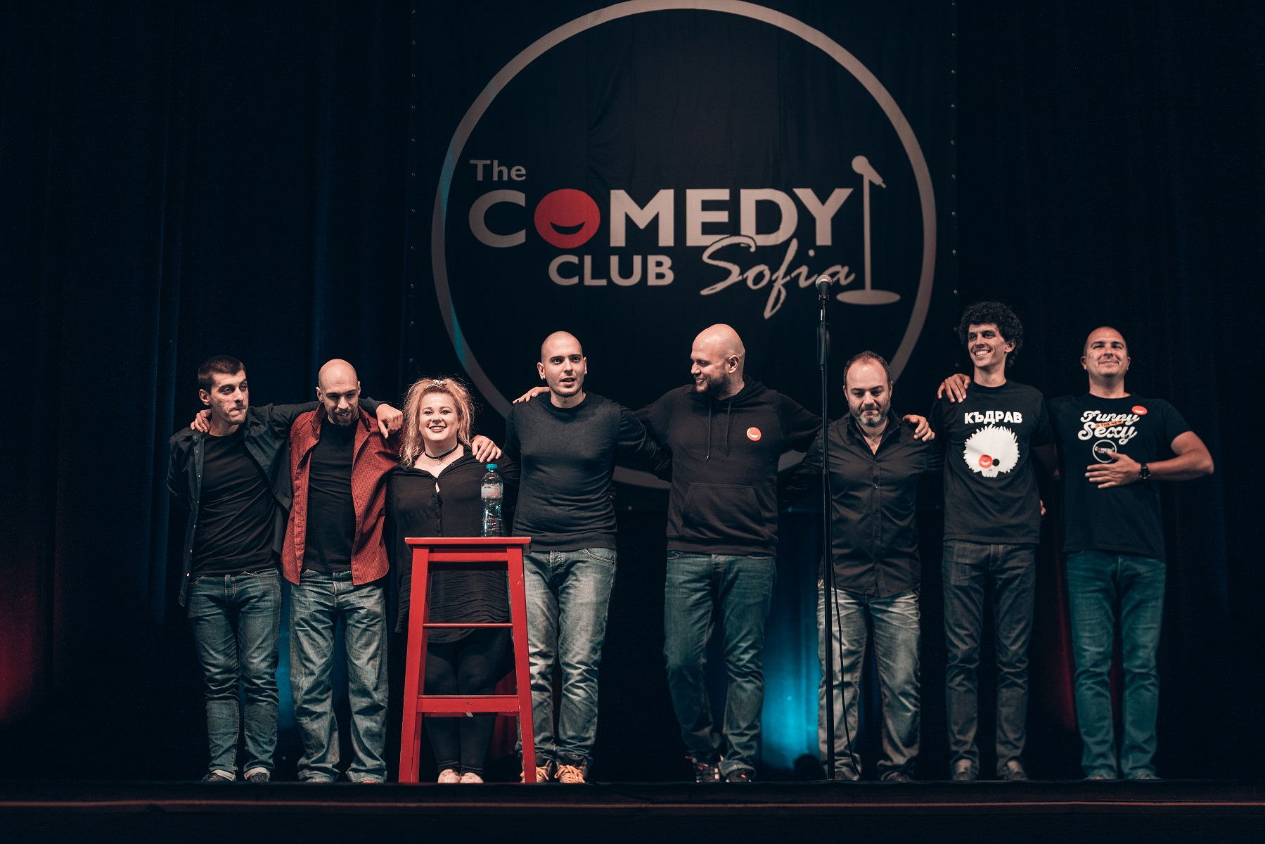 stand up comedy NDK Sofia Bulgaria