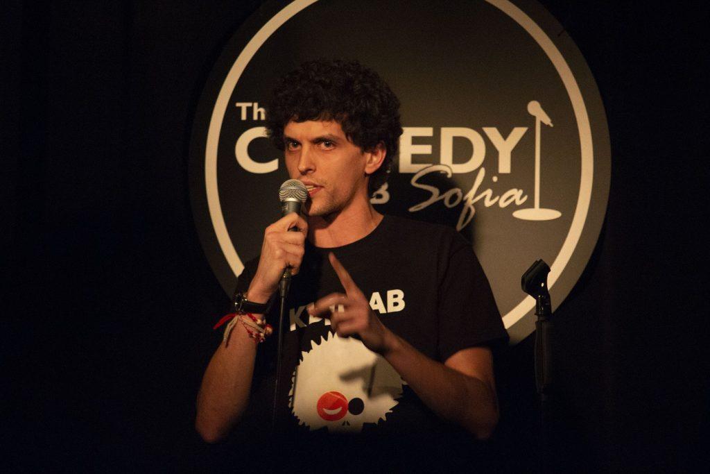 Filip Comedy Club Sofia. Philip. Phillip. Стендъп Комедия с Филип от Комеди Клуб София.