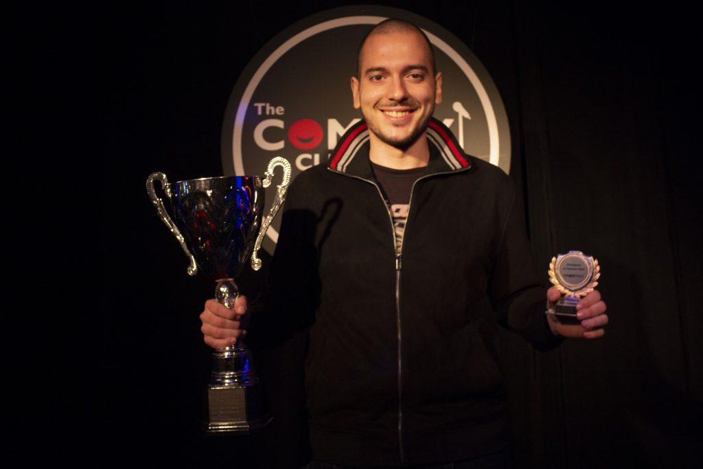 Stand-up comedy награди на годината Николаос