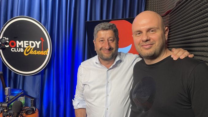 Подкаст с Христо Иванов и Иван Кирков в Комеди Клуб